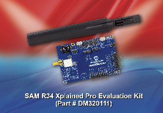 Win a SAM R34 Xplained Pro LoRaWAN Evaluation Kit