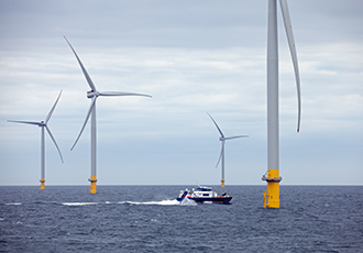 Final turbine installed at large offshore wind farm