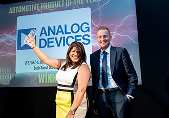 Analog Devices wins award for DC/DC controllers
