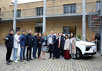 Guinness World Record with China-to-Germany EV prototype