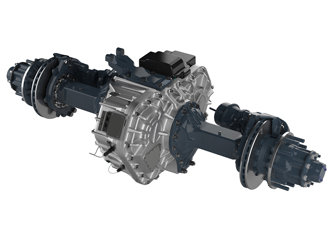 E-axle solution designed for evaluation on electric truck
