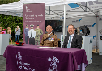 British Armed Forces Covenant signed at Goodwood Festival of Speed