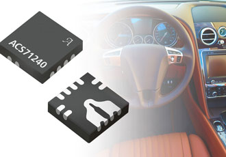 Automotive grade current sensor IC improves safety