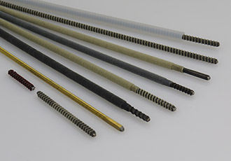 Custom flexible shafts for automotive applications