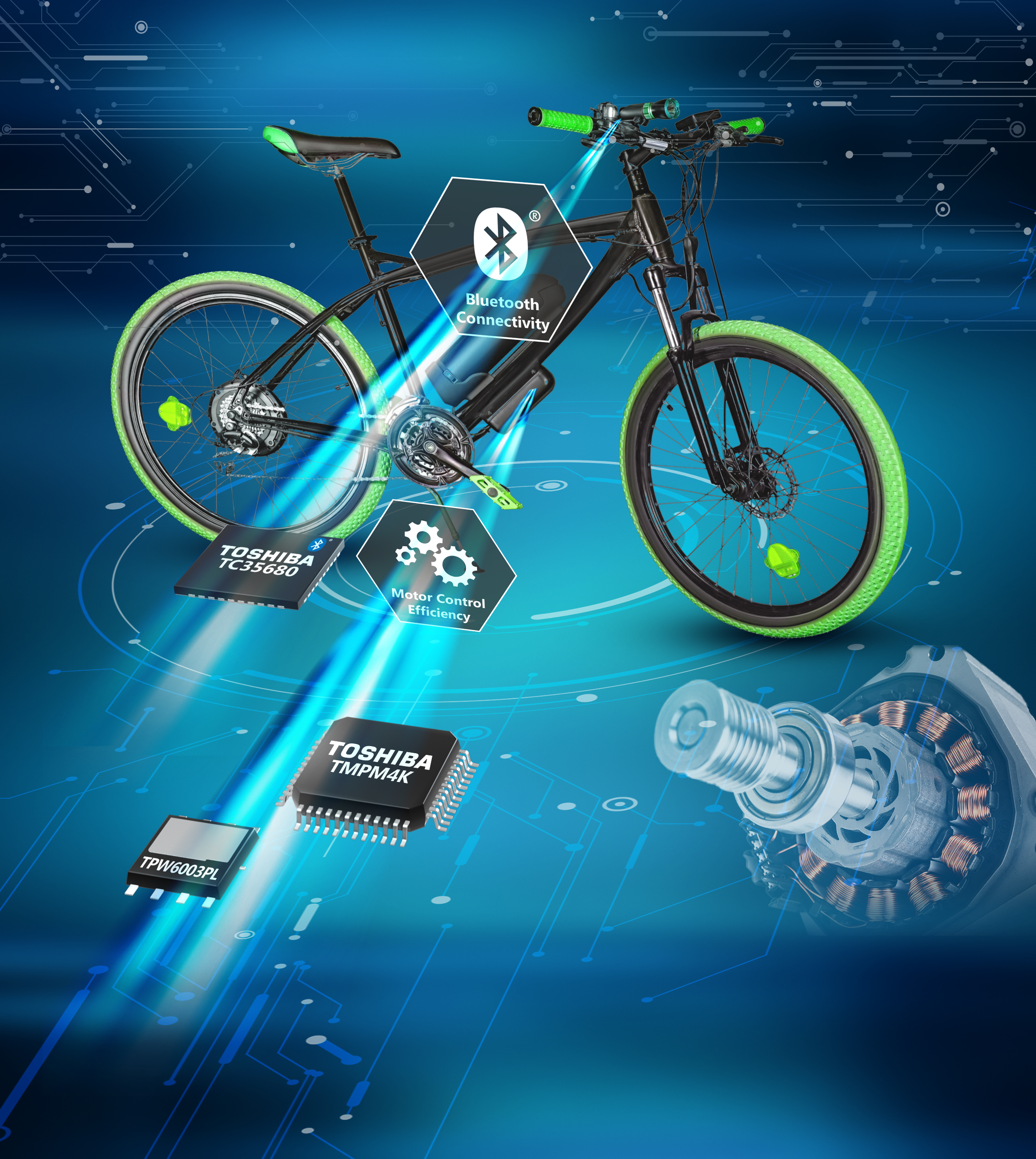 Addressing the challenges of e-bike design