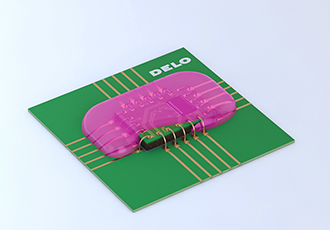 Temperature resistant encapsulant for electronic components