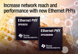 Ethernet PHYs simplify design and optimise network performance