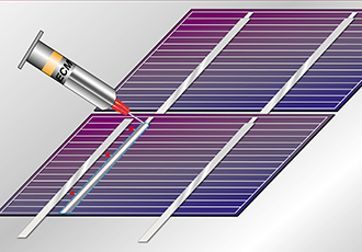 Electrically conductive adhesives at Intersolar Europe