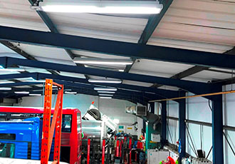 Company saves over £5,000 with efficient lighting