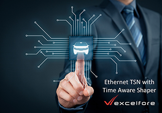 Time Aware Shaper added to Ethernet for in-vehicle networks