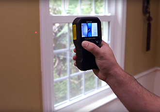 Thermal imaging indispensable for investigating damp spots