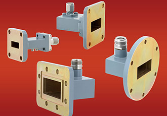 Coax adapters with frequency ranges of 1.7 to 26.5GHz