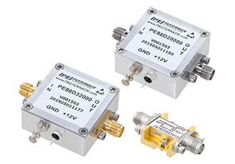 Frequency dividers with rugged SMA connectorised packages