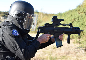 GIGN select modular rifle stock from BCB International