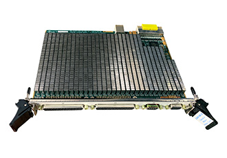 High density matrix switch card extends platform capabilities