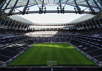 Key systems supplier prepares for Tottenham Hotspur's stadium opening