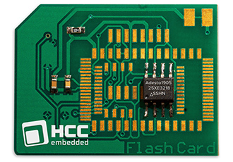 Flash management software supports non-volatile memories