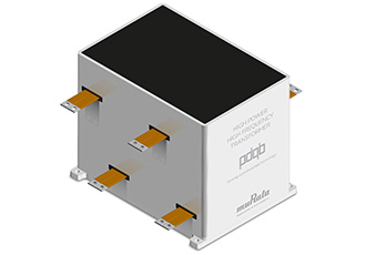 Transformer for high power, high frequency applications
