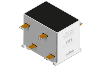 New transformer for high power and frequency applications