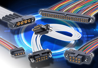 Ready-made cable assemblies for datamate connectors