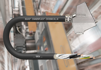 New chainflex hybrid cables for SEW and Siemens motors