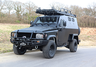Latest generation of tactical intervention vehicles at IDEX