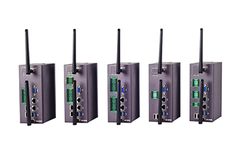Rugged industrial box PC with 4G/LTE configuration