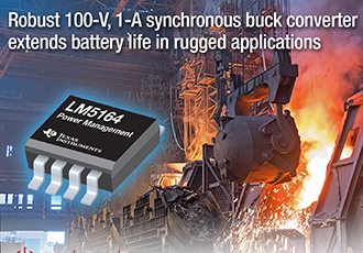 Robust synchronous buck converter shrinks board space