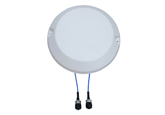 Two-port MIMO ceiling mount antenna for 5G applications