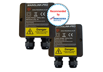 Bi-directional wireless mains to mains link