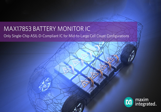 Battery monitor IC is ASIL-D-Compliant