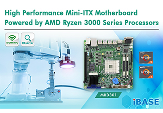 High performance Mini-ITX motherboard powered by AMD Ryzen