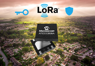 End-to-end LoRa security solution provides secure key provisioning