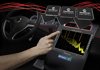 Accelerate EMI qualification with capacitive touch controllers