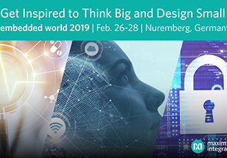 Empowering design innovation at embedded world 2019