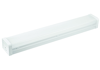 LED battens with flexible in built wattage output choice