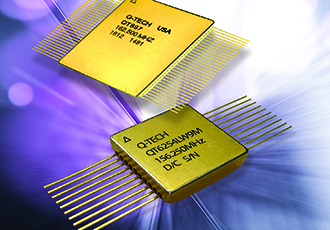Space-qualified multi-output LVDS hybrid oscillators