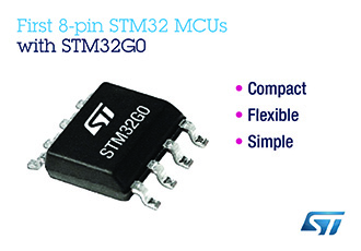 Eight-pin MCUs bring 32-Bit-MCU possibilities to simple applications