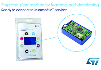 IoT sensing made accessible with plug and play solution