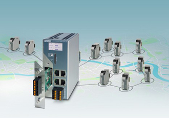 Monitor intelligent Ethernet extenders remotely