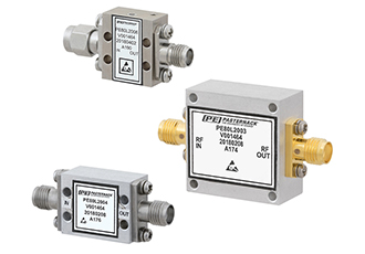 RF limiters protect sensitive receiver components