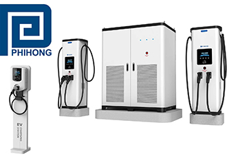 AC & DC EV Charging Products at technology expo