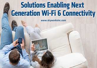 Solutions for next generation WiFi 6 applications