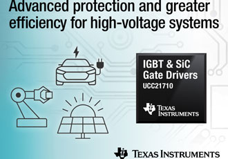SiC MOSFETs save energy and protect high voltage systems