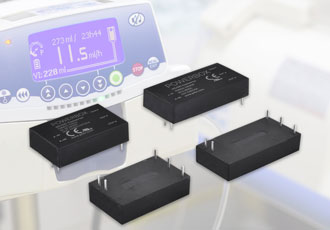 DC/DC converter features wide input voltage range covering 9-75V
