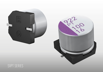 Aluminium solid capacitors feature low ESR characteristics