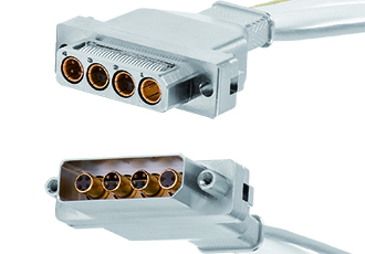High-speed rugged D-Sub connector series for space applications