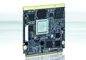 Powerful quad core processor for IoT applications