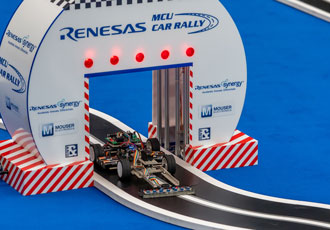 Winners announced for the embedded world MCU car rally