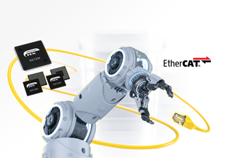 Microcontrollers with EtherCAT support for industrial applications